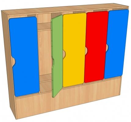 Шкаф детский 1,2,3,4,5 секционный.